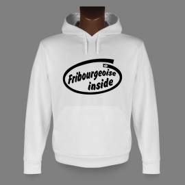 Hooded Funny Sweat - Fribourgeoise inside