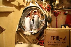 Dans un sous-marin russe à Hambourg