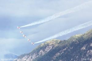 Sion Air Show 2011, patrouille suisse