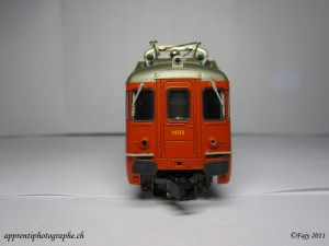Mini studio photo, locomotive Lima