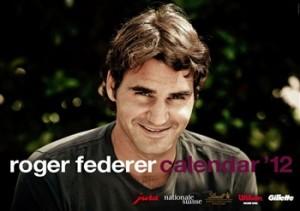 Roger Federer - calendrier officiel 2012
