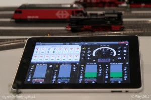 l'application Märklin pour IPad
