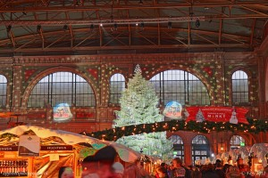 Marché de Noël dans la gare principale de Zurich