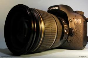 Le Canon EOS 7D, un boitier qui reste à la pointe de la technologie grâce aux mises à jour.