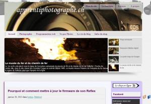 Le nouveau style visuel d'apprentiphotographe.ch