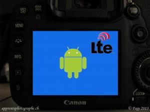 Le Canon EOS 7D-AL, A pour Android et L pour LTE