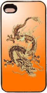 Faites revivre la légende des dragons grâce à cette reproduction tiré d'une pyrogravure de l'artiste Ferwal. Disponible pour Iphone 5