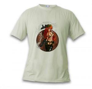 T-shirt sexy army manga girl de Kami Kanagai