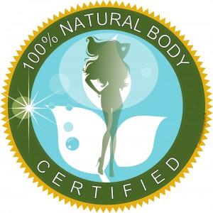 Tampon - natural Body - certifiant que votre silhouette a été façonnée entièrement par dame Nature