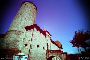 Le château de Romont