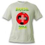 T-Shirt - Suisse Football 2014 - de marque Vapor Apparel