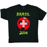 T-Shirt - Suisse Football 2014 - de marque Whale by Switcher