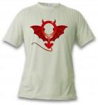 Le t-shirt Devil Man portant le symbole de la masculinité démonisé