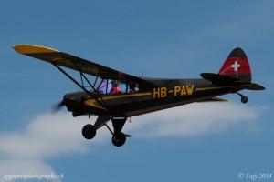 Avion photographié au télé-objectif à 220mm
