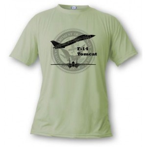 T-shirt aviation de combat - F-14 Tomcat