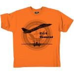 T-Shirt coton, avion de légende - F-14 Tomcat