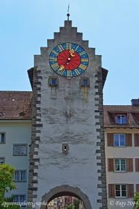 La Zeitturm, détruite lors des bombardements de 1945 et reconstruite à l'identique.