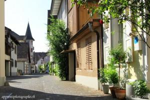 Une rue contemporaine de Stein am Rhein