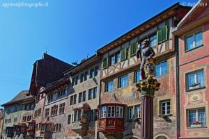 Les façades à colombages de Stein am Rhein