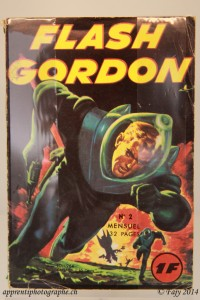 Un magazine Flash Gordon datant de 1964