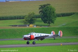 Atterrissage du premier Beechcraft