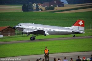 Et atterrissage du Douglas DC3