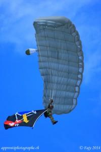 AIR14 - Eclaireur parachutiste de l'armée suisse