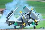 Le chasseur-bombardier Douglas AD4N Skyraider utilisé par les français lors de la guerrre d'Algérie