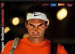 La couverture du calendrier 2016 de Roger Federer. Cliquez directement sur l'image pour le commander au Postshop.ch