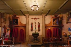 Le Baptistère et les confessionnaux de la Collégiale St-Laurent - Estavayer-le-Lac