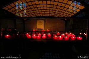 Lumignons de la Collégiale St-Laurent - Estavayer-le-Lac