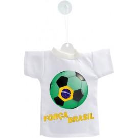 Mini Fussball T-Shirt - Força Brasil - Autodekoration