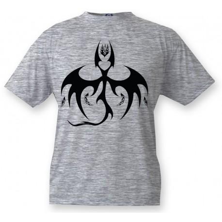 Kids T-shirt - Bat Dragon, Ash heater