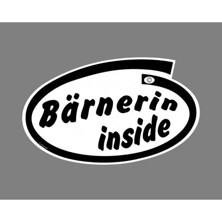 Sticker - Bärnerin inside - pour voiture