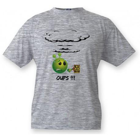 T-shirt enfant Alien smiley - OUPS!!!, Ash heater