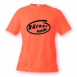 Uomo Funny T-Shirt - Bärner inside
