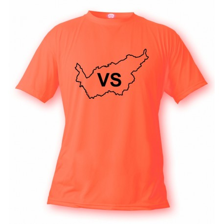 T-Shirt valaisan - VS, Safety Orange