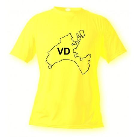 Waadtlander T-Shirt - VD, Safety Yellow