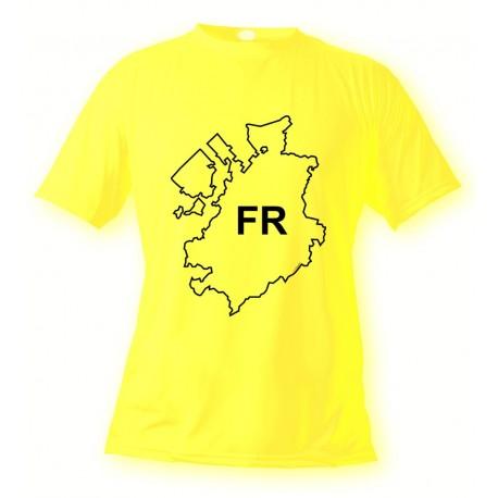 Freiburger T-Shirt - FR - für Frauen oder Herren, Safety Yellow