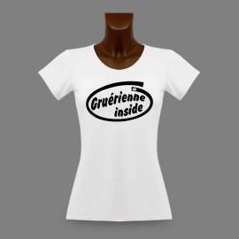 Women's slim T-Shirt - Gruérienne Inside