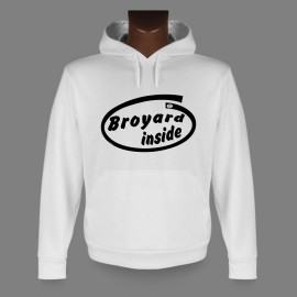 Hooded Funny Sweat - Broyard inside