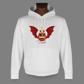 Hooded Funny Sweat - Alien Smiley, Devil Vampyr