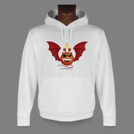 Hooded Funny Sweat - Alien Smiley, Devil Vampyr