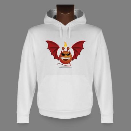 Funny Kapuzen-Sweatshirt - Alien smiley - Devil Vampyr