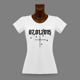 T-Shirt slim moulant pour dame - 07.01.2015