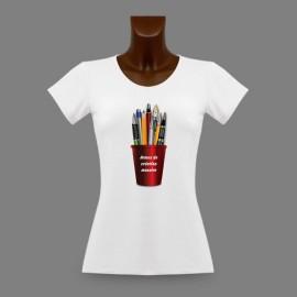T-Shirt moulant dame - Armes de création massive