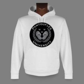 Hooded Funny Sweat - Pantoufles University