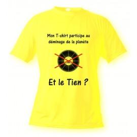 T-Shirt - Participons au déminage