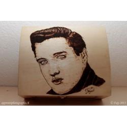 Coffret en bois Elvis Presley