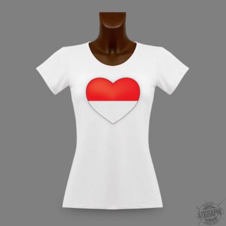 Women's slim T-Shirt - Solothurn Heart